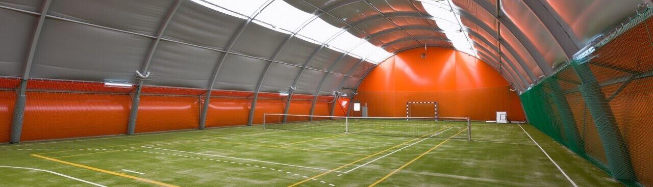 Sport Halls LTD. Oblúkové tenisové haly