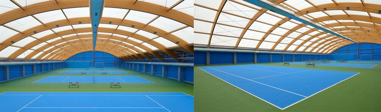 Sport Halls LTD. Akrylátové povrchy